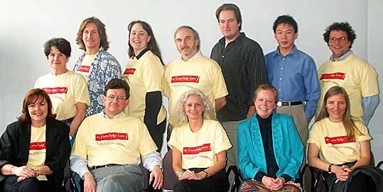 A photo of the Knowledgeloom team
